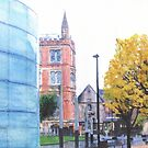 Manchester - Cathedral Square by exvista