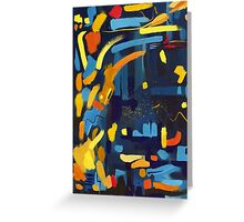 abstract #2 Greeting Card