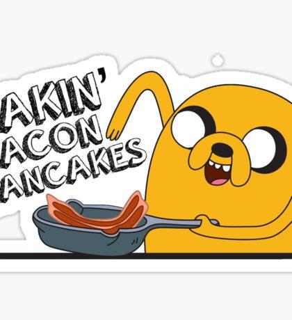 Making Bacon Pancakes Sticker