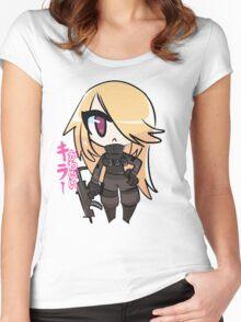 Cs:go Kawaii killer shirt Women's Fitted Scoop T-Shirt