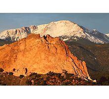 Red Rock Photographic Print