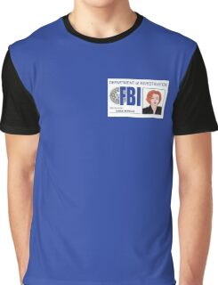 Agent Dana Scully Graphic T-Shirt