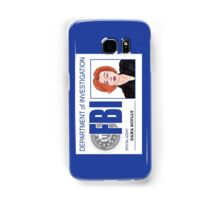 Agent Dana Scully Samsung Galaxy Case/Skin