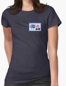 Agent Dana Scully Womens Fitted T-Shirt
