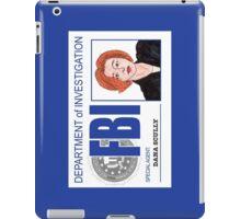 Agent Dana Scully iPad Case/Skin