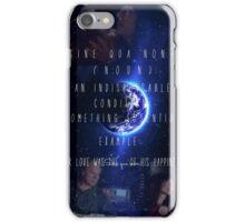 Roslin/Adama Sine Qua Non iPhone Case/Skin
