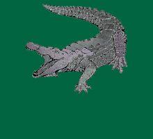 Concrete Crocodile  Unisex T-Shirt