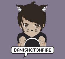 Danisnotonfire Kitten Kids Tee