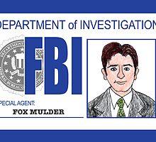 Agent Fox Mulder by mrspremise