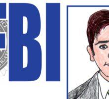 Agent Fox Mulder Sticker