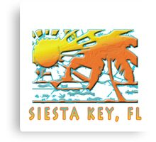 Siesta Key Beach Boutique Canvas Print