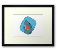 Vegetables Sharks Framed Print