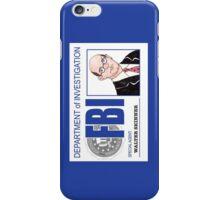 Agent Walter Skinner iPhone Case/Skin