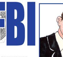 Agent Walter Skinner Sticker