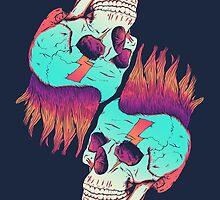 Skull Redux by victorsbeard