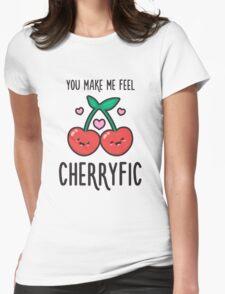 Cherryfic! Womens Fitted T-Shirt