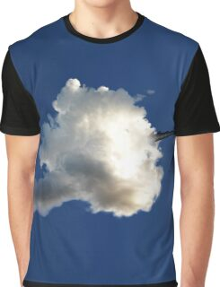 Dragon Hiding in a Cloud Graphic T-Shirt