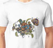 flower doodle Unisex T-Shirt
