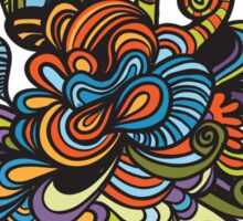 flower doodle Sticker