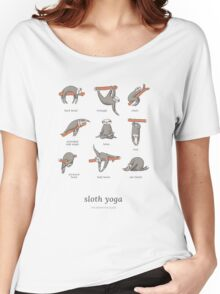 Sloth Yoga - The Definitive Guide Women's Relaxed Fit T-Shirt