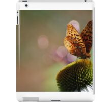 Painted Lady Collecting Nectar iPad Case/Skin