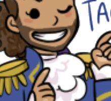 Hamilton - Lafayette - Practical Tactical Brilliance - Black Case/Sticker Sticker