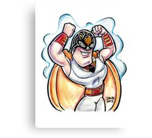 Lucha Space Ghost Canvas Print