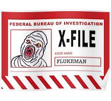 X-File: Flukeman Poster