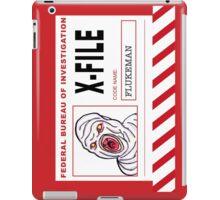 X-File: Flukeman iPad Case/Skin