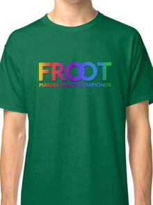 Marina and The Diamonds: FROOT - Stars Background Classic T-Shirt
