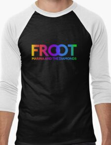 Marina and The Diamonds: FROOT - Stars Background Men's Baseball ¾ T-Shirt