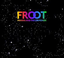 Marina and The Diamonds: FROOT - Stars Background by Ieuan Thomas