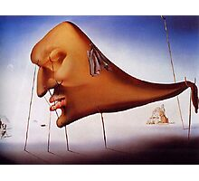 Sleep by Salvador Dali - Pillow and Phone Cases Photographic Print