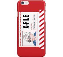 X-File: Gibson Praise iPhone Case/Skin