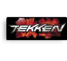 Tekken Logo Official Videogame Canvas Print