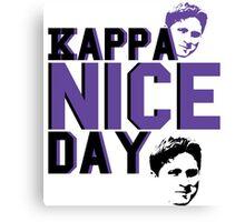 Kappa Nice Day Canvas Print