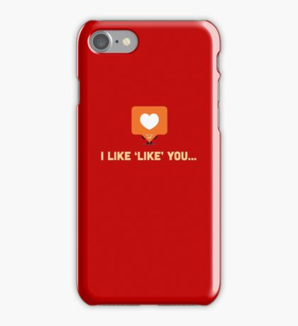 Character Building - 'Like' Like iPhone Case/Skin