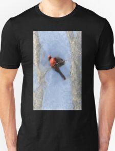 Water Color Cardinal T-Shirt