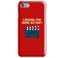 Character Building - Clapperboard iPhone Case/Skin