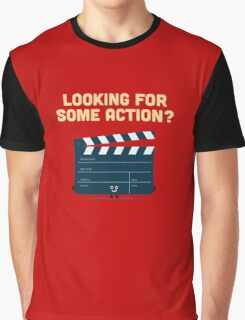 Character Building - Clapperboard Graphic T-Shirt