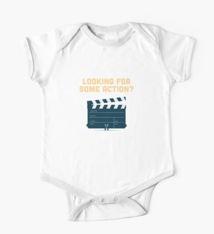 Character Building - Clapperboard One Piece - Short Sleeve