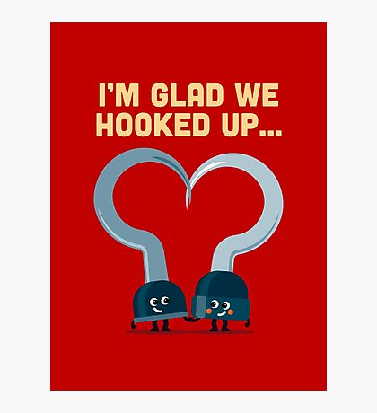 Character Building - Hook ups Photographic Print