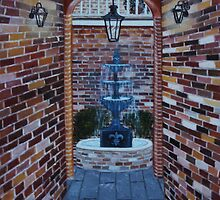 Into the Courtyard by Judy Jones