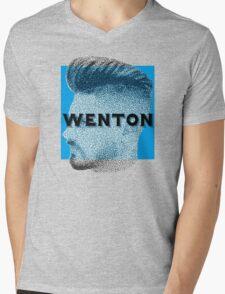 Fade Wenton Mens V-Neck T-Shirt