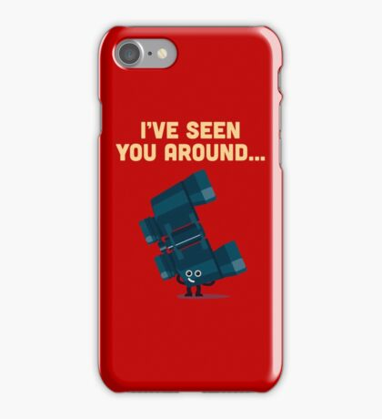 Character Building - Binoculars iPhone Case/Skin