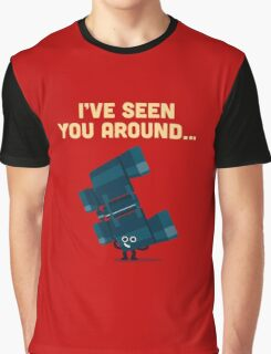 Character Building - Binoculars Graphic T-Shirt