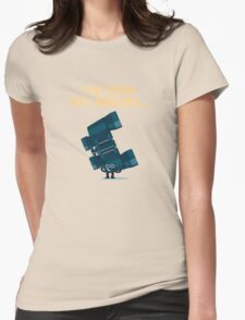 Character Building - Binoculars Womens Fitted T-Shirt