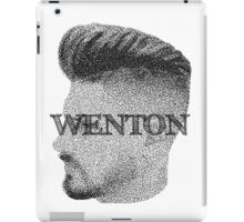 Fade Wenton (Black & White) iPad Case/Skin
