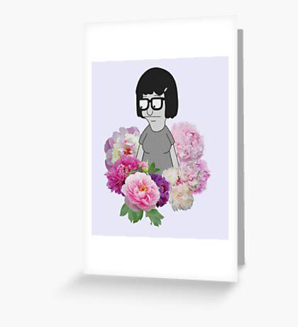 TINA Greeting Card