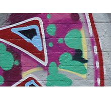 Graffiti Abstract. Photographic Print